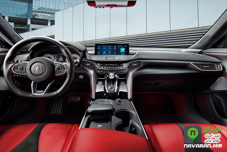 cabin Acura TLX 2021