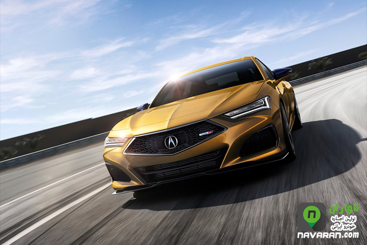 gold Acura TLX 2021