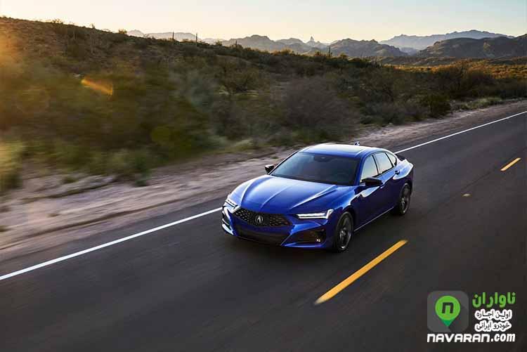 blue Acura TLX 2021