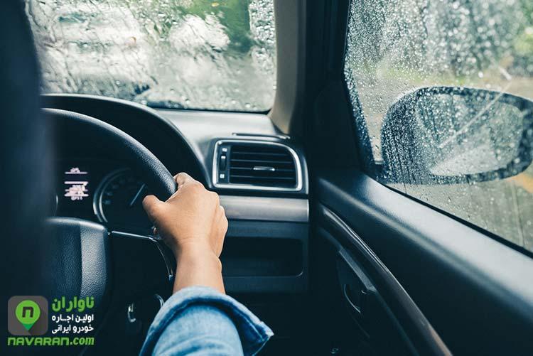 عادت های غلط رانندگی در زمستان