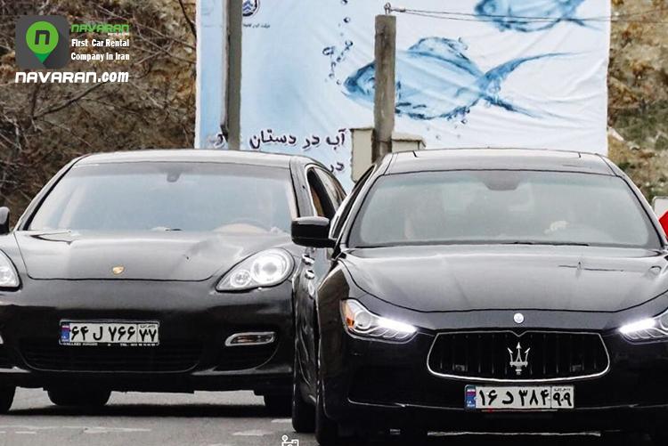 صاحبان خودروهای لوکس خیابانی چه کسانی هستند؟؟
