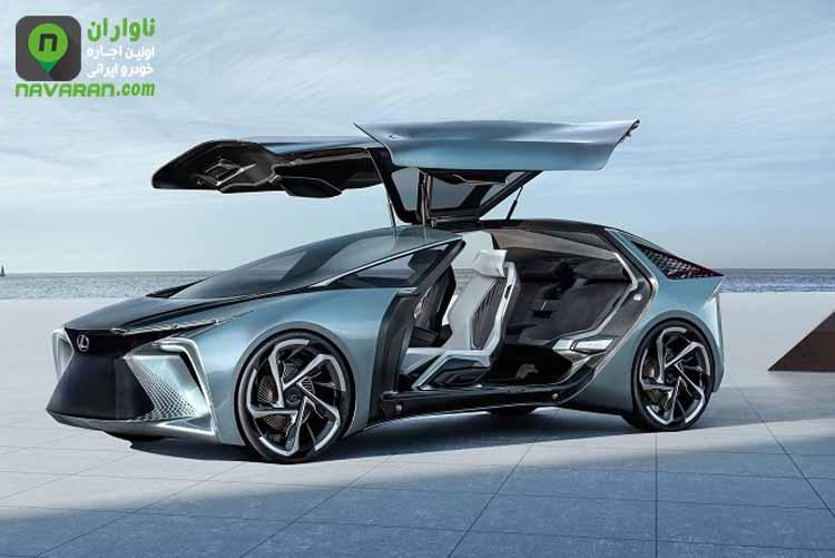 Lexus LF-30 نخستین خودرو برقی لکسوس + ویدئو