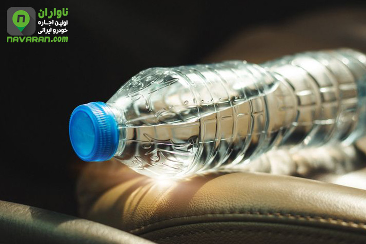 water in car