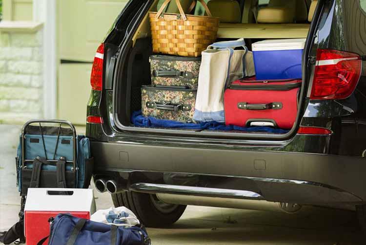 چینش وسایل در ماشین، نکات کلیدی برای چیدن صندوق عقب خودرو