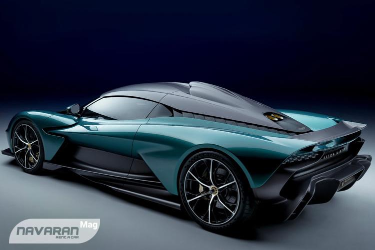 خودرو استون مارتین والهالا با طراحی زیبا و خاص