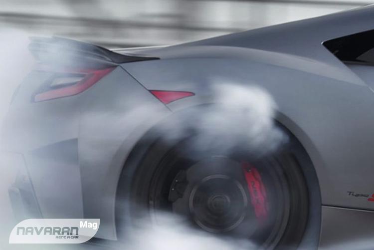 تصویر عقب خودرو هوندا NSX