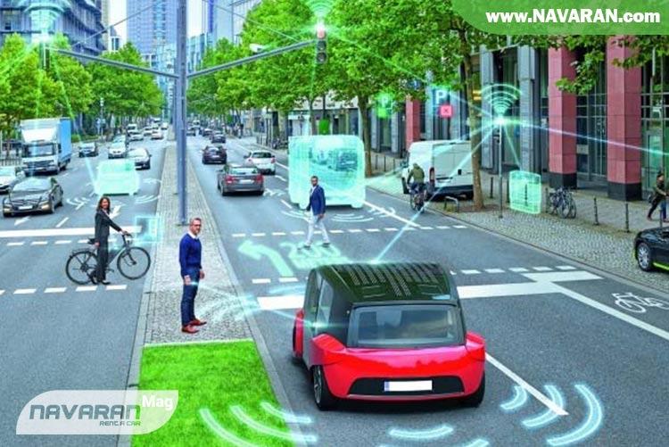 تصویر عملکرد خودرو دارای کروز کنترل تطبیق پذیر