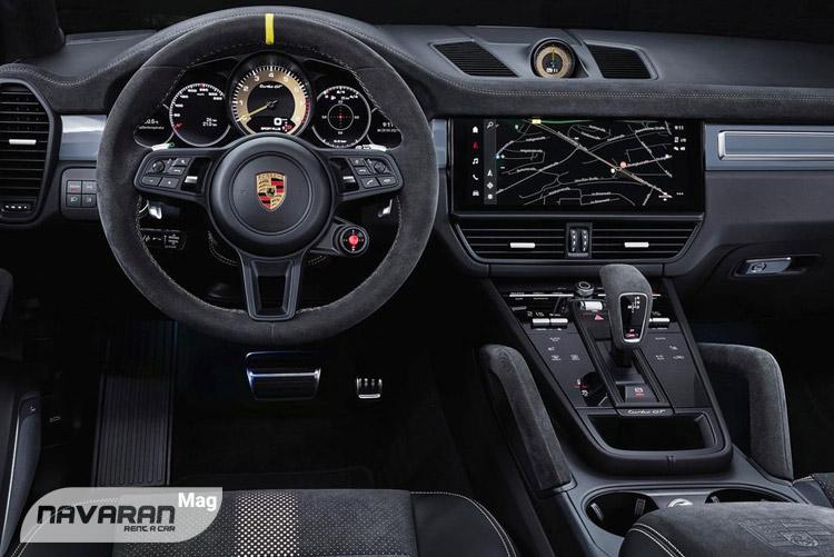 داخل خودرو پورشه کاین GT 2022